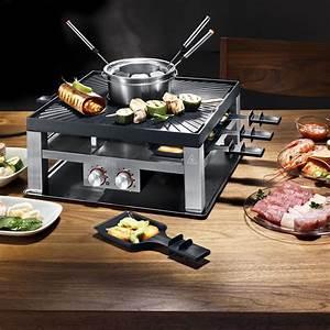 Raclette Fondue Set : raclette tischgrill ~ Michelbontemps.com Haus und Dekorationen