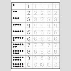 Tracing Numbers 110 Worksheets  Kids Worksheets Printable  Tracing Numbers 1 10, Number