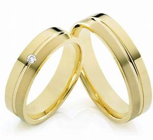 unique wedding ring sets for him and her gold plated With gold wedding ring sets for her