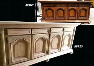 Decaper Volet Bois Lasure : decaper un meuble vernis en chene ~ Nature-et-papiers.com Idées de Décoration