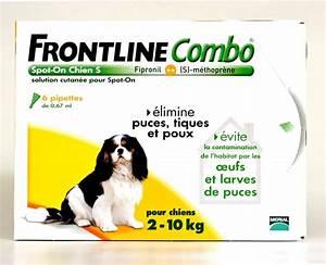 Puce De Chien : frontline combo petit chien 2 10kg 6pip anti puce ~ Melissatoandfro.com Idées de Décoration
