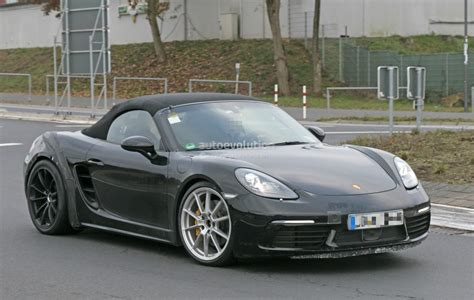 boxster porsche 2018 porsche 718 boxster gts makes spyshot debut to be a