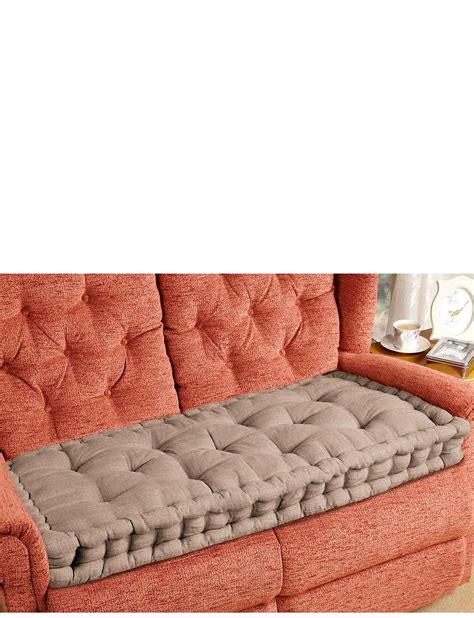 Settee Cushion Pads by 3 Seater Booster Cushion For Your Sofa Chums