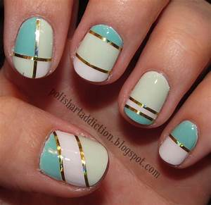 Cool Easy Nail Designs With Tape: Trend manicure ideas ...
