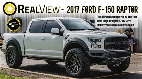 realview leveled  ford   raptor   fuel