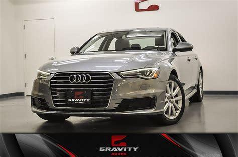 2016 Audi A6 2.0t Premium Plus Stock # 006719 For Sale