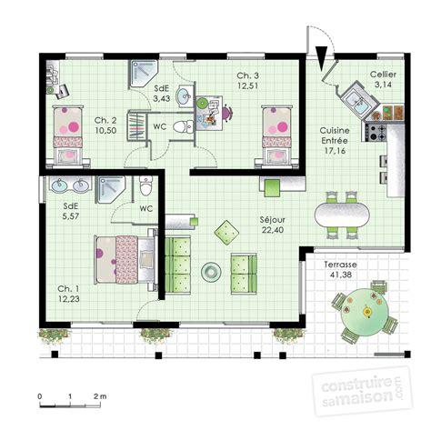faire plan cuisine attrayant cuisine gris et blanc 14 grande villa