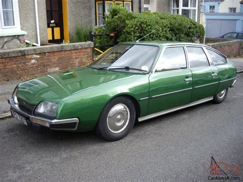 Citroen Cx For Sale by Stunning Citroen Cx 2400 Pallas In Metallic Dryade Green