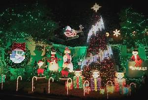 Burbank Christmas Lights Best Christmas Lights And Awesomely Decorated Homes Around