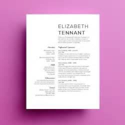 free graphic design resume template microsoft word 4 minimalist resume templates