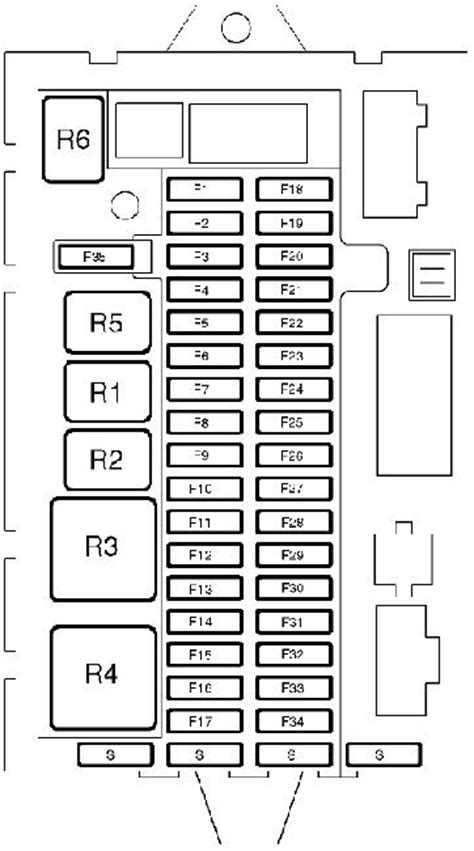 1998-2005 Land Rover Discovery 2 Fuse Box Diagram » Fuse