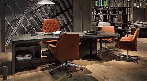 Poltrona Frau Office : Poltrona Frau Jobs Office Desk, With Oxford And Downtown
