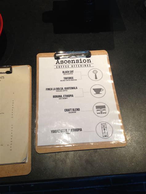 La carta actualizada de ascension café. Ascension Coffee in Dallas | Places to See in Dallas