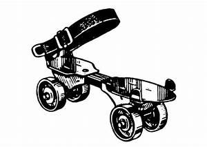 Patin A Roulette Vintage : coloriage patin roulettes img 18851 ~ Dailycaller-alerts.com Idées de Décoration