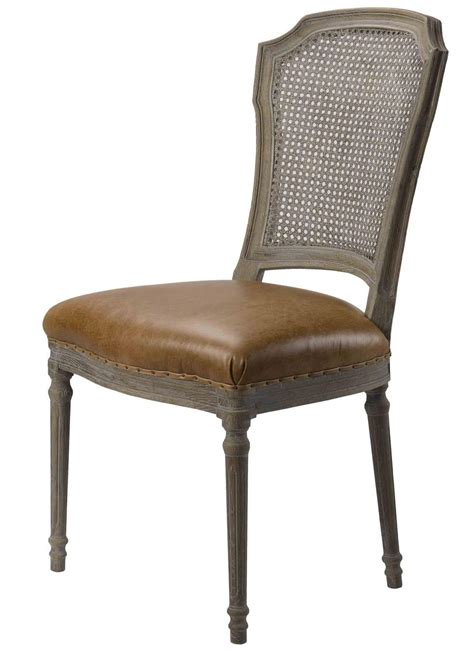 Spectra Home Chelsea Dining Chair Wcane Back (set Of 2