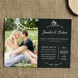 special wednesday unique wedding photo ideas With wedding invitations with photograph