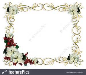 where to buy petals templates christmas border white poinsettia gold frame