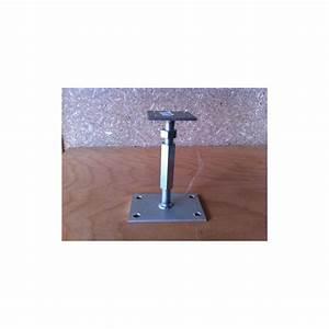 Pieds Réglables En Hauteur : pied de poteau r glable en hauteur de 120 200 mm ~ Dailycaller-alerts.com Idées de Décoration