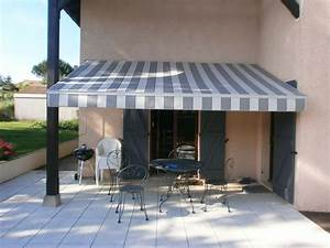 Promotion Store Banne Trendy Store De Terrasse Gold With