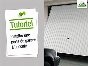 comment installer une porte de garage a bascule leroy With www porte de garage