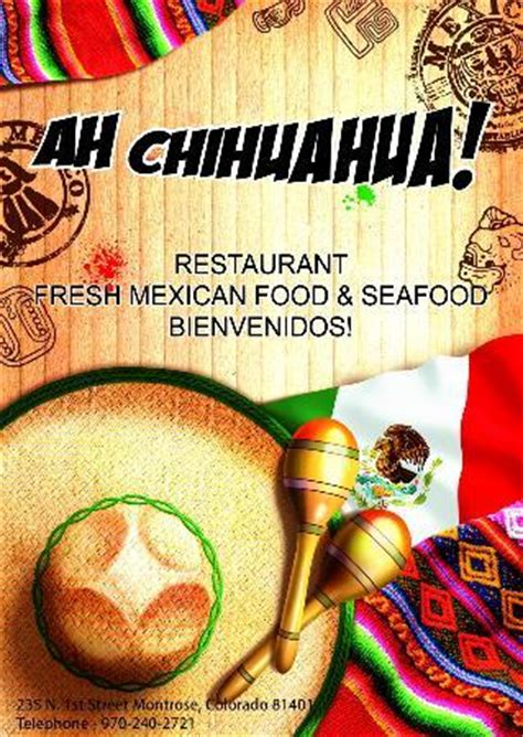 ah chihuahua montrose restaurant reviews phone number