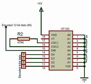 Ht12d Circuit Diagram