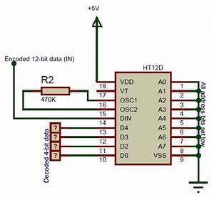 Ht12d Circuit Diagram