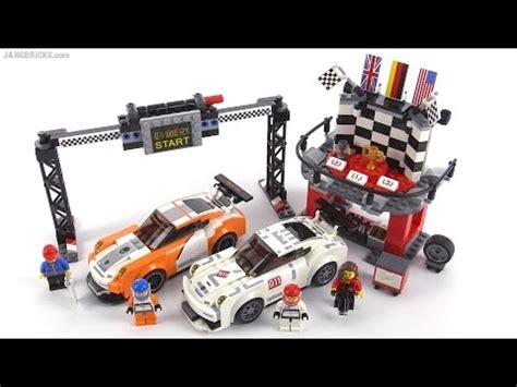 lego speed chions porsche lego speed chions porsche 911 gt finish line review set 75912