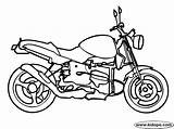 Motor Cycle Coloring Pages Bike Cars Bikes Transportation sketch template