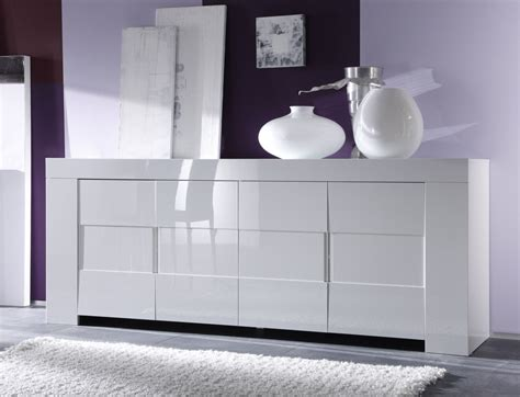 repeindre un meuble laque blanc buffet bahut 4 portes design laqu 233 blanc judy buffet bahut soldes salle 224 manger promos
