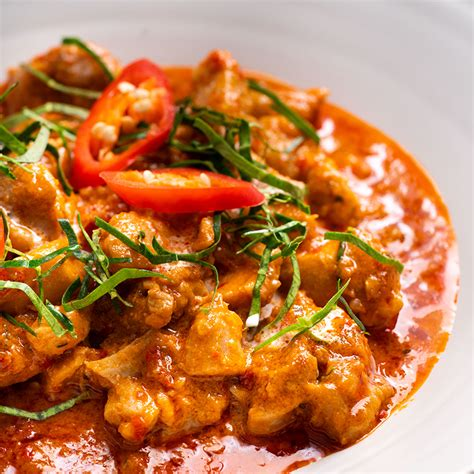 thai panang chicken curry marions kitchen