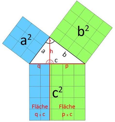 kathetensatz lehrsatz des euklid