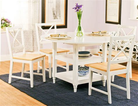 Kitchen Table And Chairs Walmart by Cottage 5 Dining Set White And