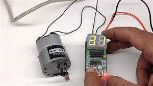 Digital Dc Motor Speed Controller With Display