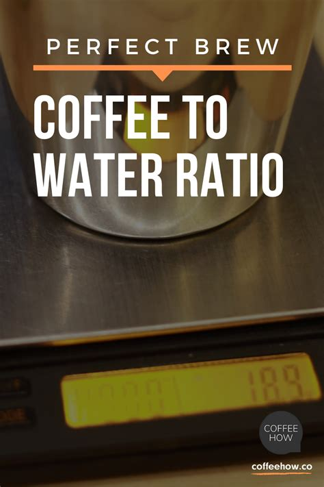 How do you make cold brew coffee at home? Coffee to Water Ratio - CoffeeHow in 2020   Coffee to water ratio, Coffee brewing, Making cold ...