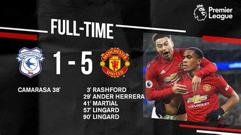 Cardiff City vs Manchester United 1-5 – Highlights & Goals ...