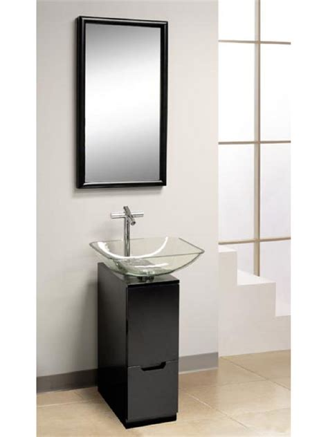 small cabinet for vessel sink bathroom modern bathroom design with small vanity and