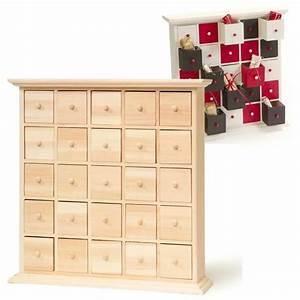 Tiroir De Rangement Bois : meuble 25 tiroirs calendrier de l 39 avent calendrier de l ~ Melissatoandfro.com Idées de Décoration