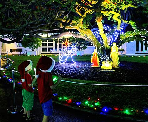 government house christmas lights paddington brisbane