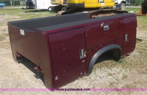 Stahl Utility Bed by Vehicles And Equipment Auction In Independence Kansas By