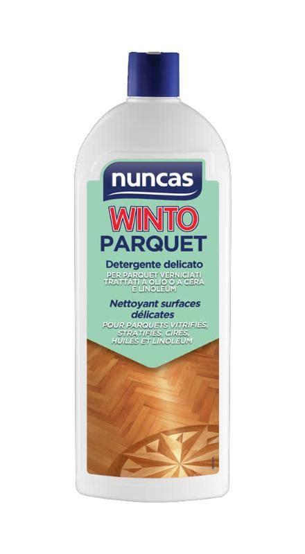 Detergente Delicato per pulire il parquet verniciato