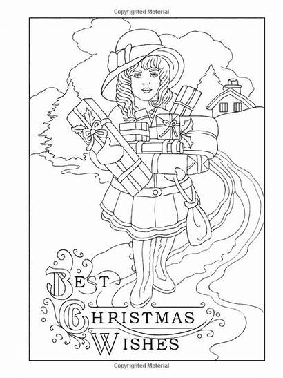 Coloring Christmas Pages Books Adult Haven Creative