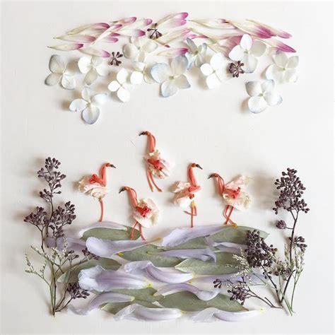 botanical artist  foraged materials  create organic
