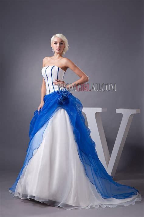 royal blue and white wedding dresses white and royal blue wedding dresses pictures ideas guide to buying stylish wedding dresses