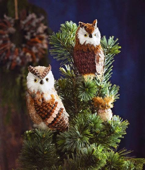 barn owl christmas tree toppers barn owl tree toppers