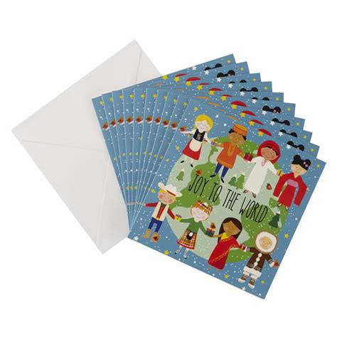 children of the world christmas card 10 pack oxfam gb