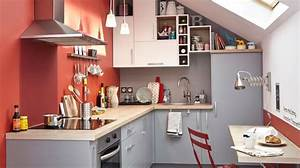 peinture cuisine bonnes couleurs pieges a eviter With quel mur peindre en fonce 7 quelle couleur de mur pour cuisine blanche avec sol gris