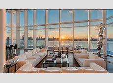 $40 Million Richard Meier Manhattan Penthouse Hits the