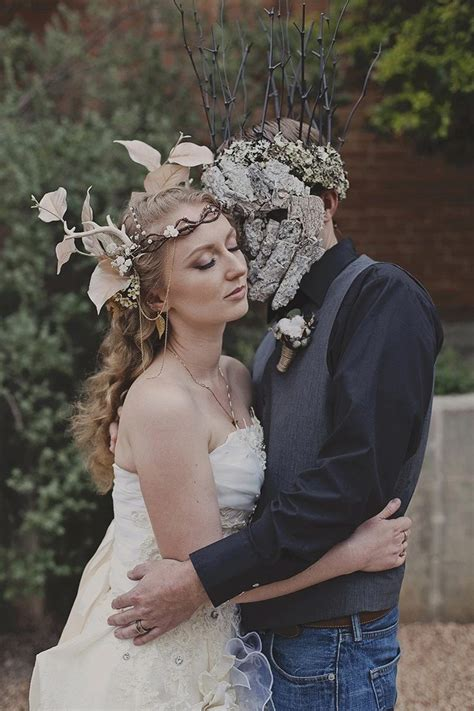 Take Your Wedding Flower Crown Obsession To The Next Level