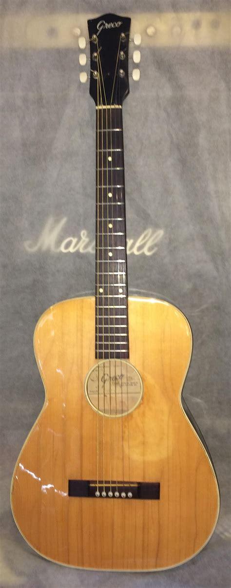 vintage greco gr  acoustic guitar reverb